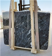 Bayburt Black Marble Slabs,Tiles