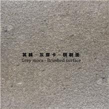 Grey Mocha Marble Brushed Surface