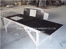 Absolute Black Granite Slabs&Countertops Polished