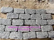 Black Basalt Cubbles&Paving&Tumbled&Natural