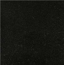 Absolute Black Granite Slab Indian Black Granite