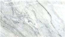 Opal White Marble Slab