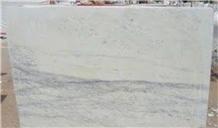 Purple White Marble Slab