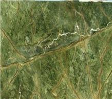 Rain-Forest Green Marble Slabs & Tiles