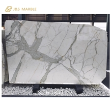China Factory Antique Calacatta White Marble