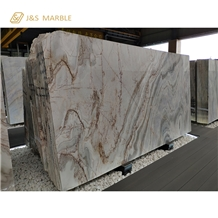 Chinese Polished Yinxun Tree Root Marble