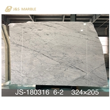Mystery Statuario White Marble for Countertop