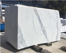 Statuario Carrara Marble Block