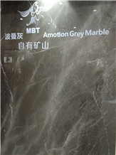 Amotion Gray Marble Slabs, Tiles