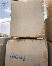 Zare Marble Blocks in Stockyard