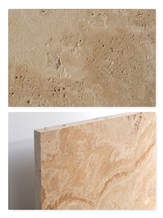 Travertine Tile - Cross-Cut, Antique, Unfilled