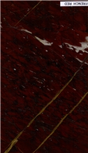 French Red Marble Tiles, Rosso Francia Classico