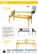 MK 2500 Automatic Marble Granite Tile Cutting Machine