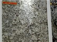 Antico Bianco Granite Slabs