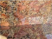 Rose & Gold Granite Slabs