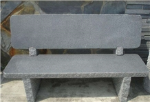 Sesame Grey Tea Tables, Chair,Garden Stone Furniture, China Grey Granite