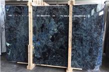 Lemurian Blue Granite Slab,Azul Labradorite Tiles Machine Cut to Size