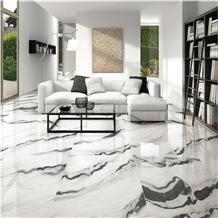 Panda White Marble Tiles Room Floor Cover Panel
