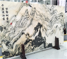 Landscape Painting Marble
