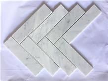 Marble Mosaic Carrara White