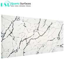White Color Artificial Quartz Stone