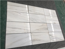 Silk White Marble Flooring Slabs &Tiles