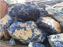 Small Blue Sodalite Raw Rough Block