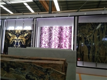Translucent Amethyst Slab for Countertop