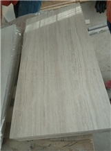 Wooden White Marble Wall Covering Tiles