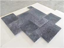 China Black Limestone Black Stone Slabs&Tiles