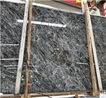 Snow Mountain Silver Fox Grey Wolf Marble Slabs