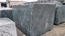 Indian Green Marble Block