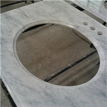 Bianco Carrara Marble Vanity Top