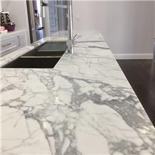 White Calacatta Marble Countertop