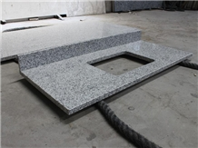 China G655 Granite Commercial Hotel Vanity Tops