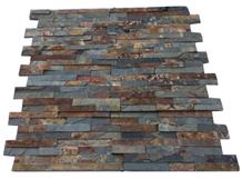 Rusty Slate Multicolor Slate Cladding Stone