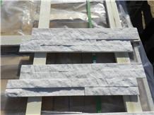 White Quartzite Thin Stone Veneer