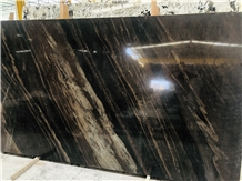 Chocolate Dark Brown Wooden Vein Teak Wood Slabs