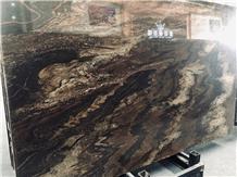Quicksand Brown Granite Cross Cut Slabs & Tiles