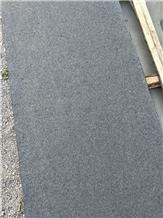 New G684 Flamed and Brushed Black Granite Tiles