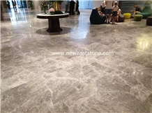 Silver Mink Grey Tiles and Marbles Floors Designs