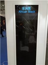 African Black Marble Slabs, Tiles