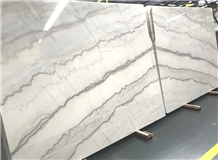 China Guangxi White Bookmatched Slabs