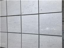 China Polar White Travertine Honed Tiles