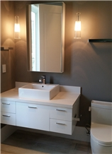 Bathroom Acrylic White Vanity Top Cut to Size