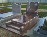 American Style Monuments Gravestone Tombstone