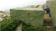 Block Ming Green Marble High Quality Quarry Cut