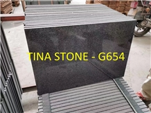China Grey Granite G654 Slabs Tiles Floor Skirting