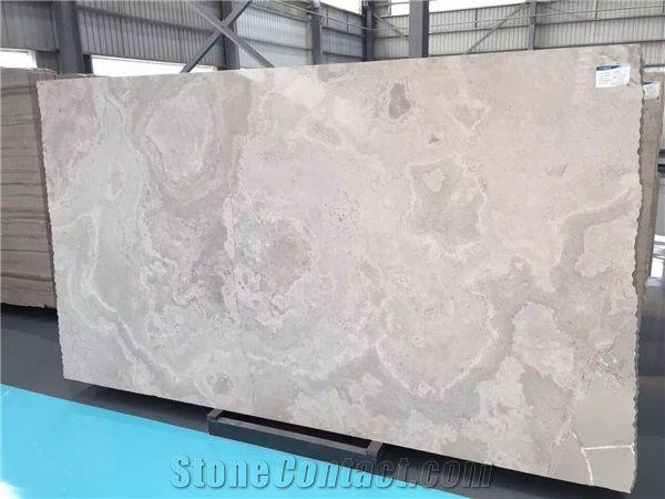 White Sandalwood Cross Cut Marble Tiles