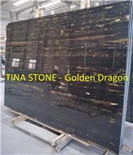 Golden Dragon Marble Stone Floor Slabs Tiles Wall